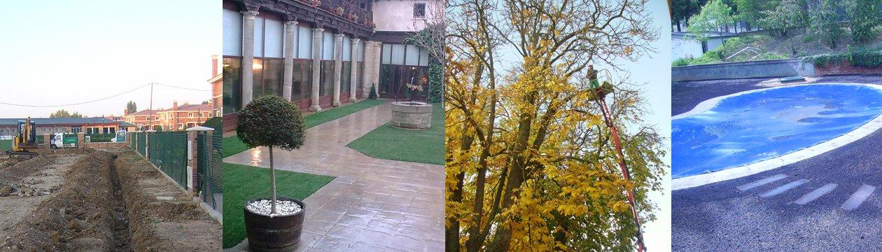 Empresa de jardineria en Palencia, trabajos